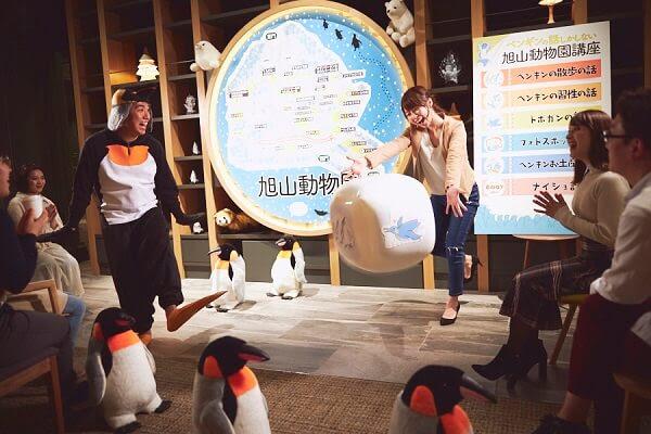 【OMO7 旭川】「ペンギンの話しかしない、旭山動物園講座」登場