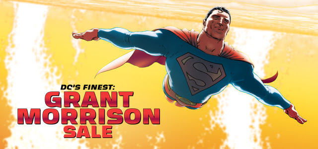 DC's Finest Grant Morrison digital comics sale