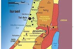 Allon Plan map