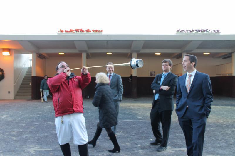 Horse racing traack aqueduct NYRA Resorts World Stakes