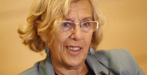 La alcaldesa de Madrid, Manuela Carmena./ EUROPA PRESS