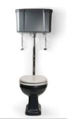 Medium level cistern