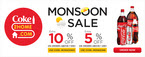 Coke2Home Monsoon Sale-- Extra 5% OFF above Rs 299 ||Extraa 10% OFF above Rs 599 (Min. Order for Delivery)