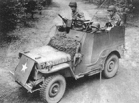 Armored Jeep