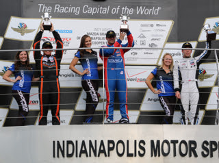 Harvey win at Indy
