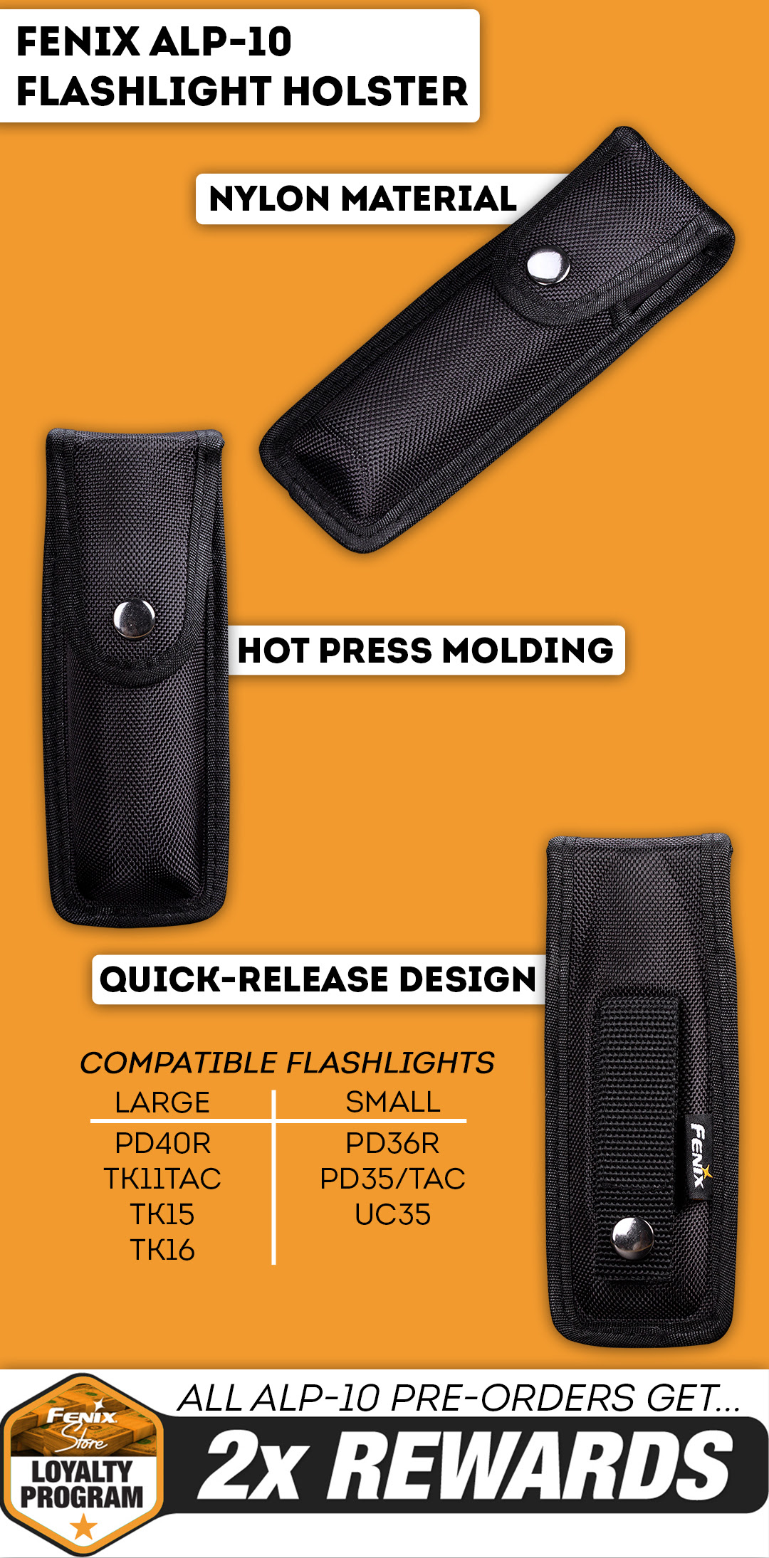 New Fenix Holster