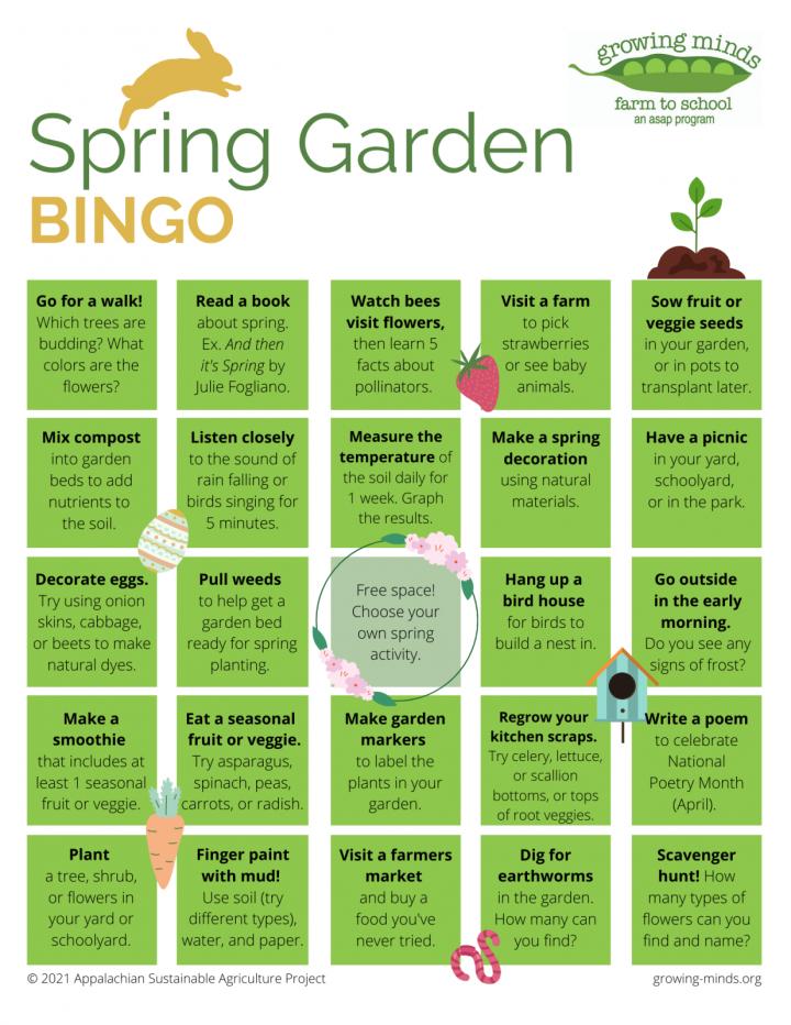 Spring Garden Bingp