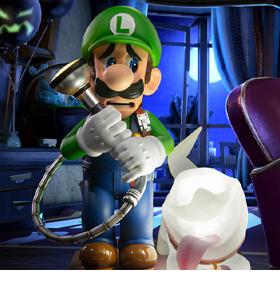 Luigi's Mansion 3 Luigi Collector's Edition Statue