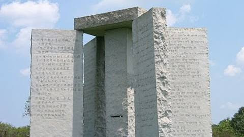 Planned World Depopulation Event on August 14 2016? Georgia Guidestones
