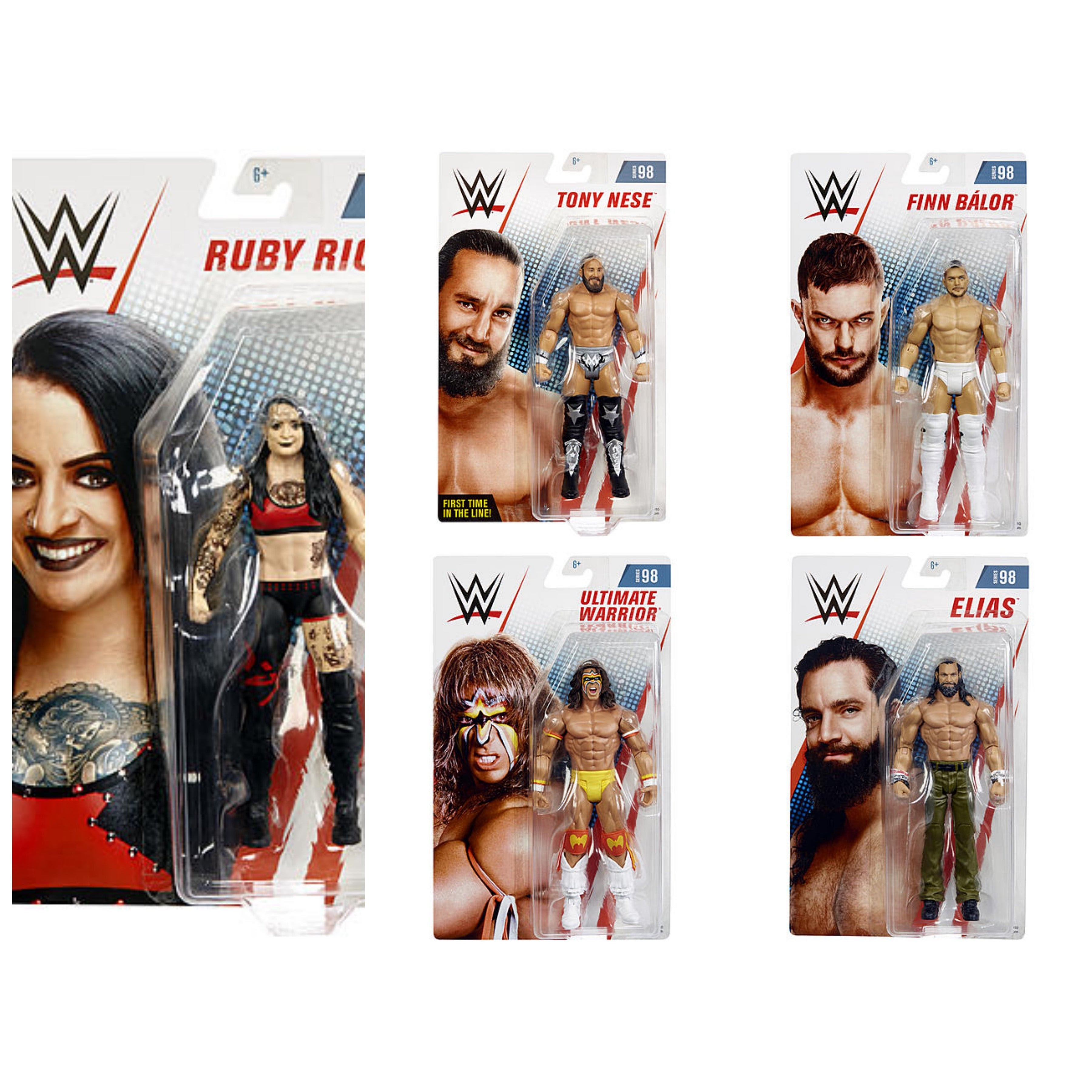 Image of WWE Basic Series 98 - Set of 5 - JULY 2019