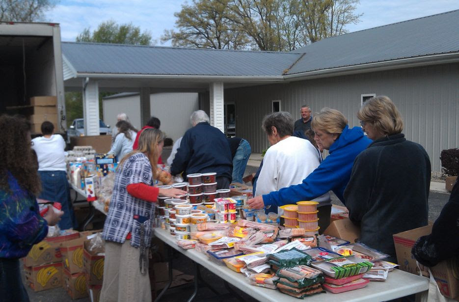 This food bank helped a record number of people in 2020