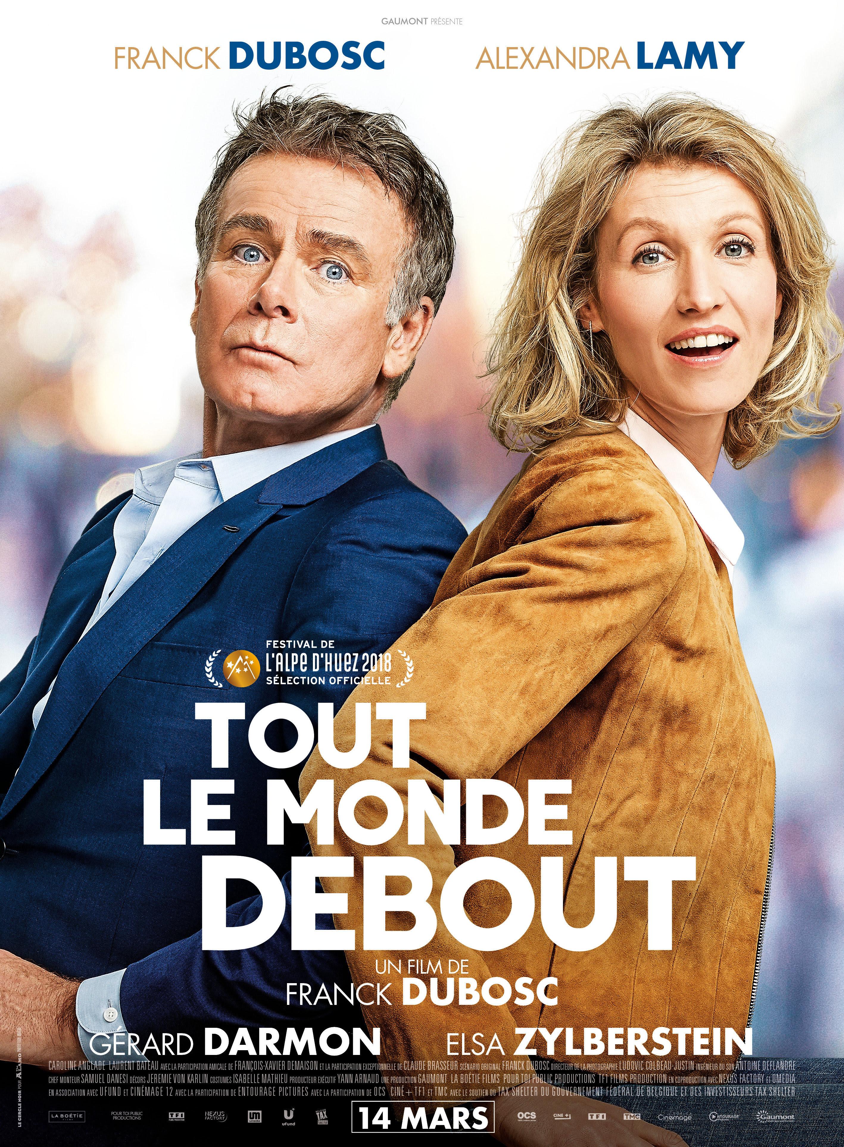 """Quinto título: """"RODANDO HACIA TI"""" de Franck Dubosc, en el22o. Tour de Cine Francés"""