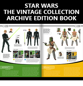STAR WARS THE VINTAGE COLLECTION ARCHIVE EDITION BOOK