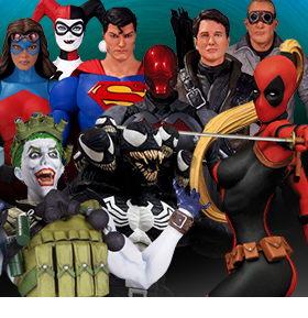 NEW DC COLLECTIBLES & DIAMOND SELECT