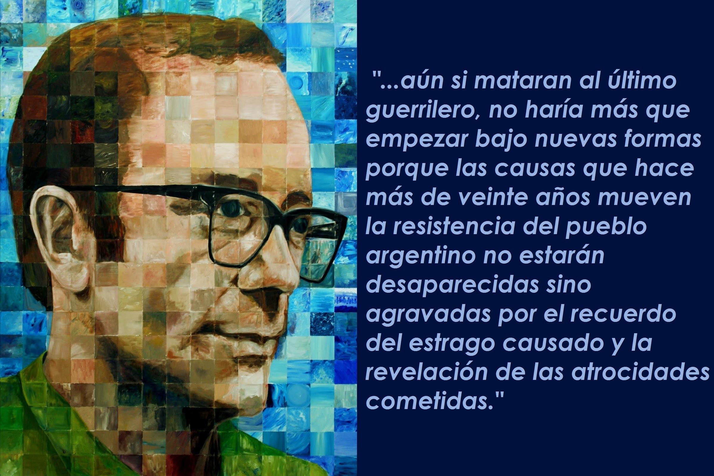 Carta abierta de Rodolfo Walsh a la junta por Alfredo Alcón