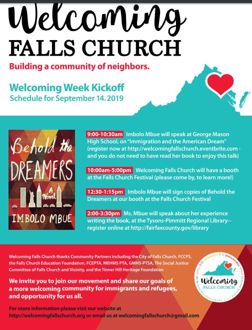Welcome Falls Church Logo Image