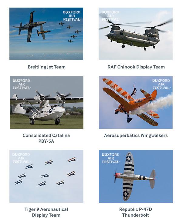 Duxford Air Festival 2019 Flying List Announcements