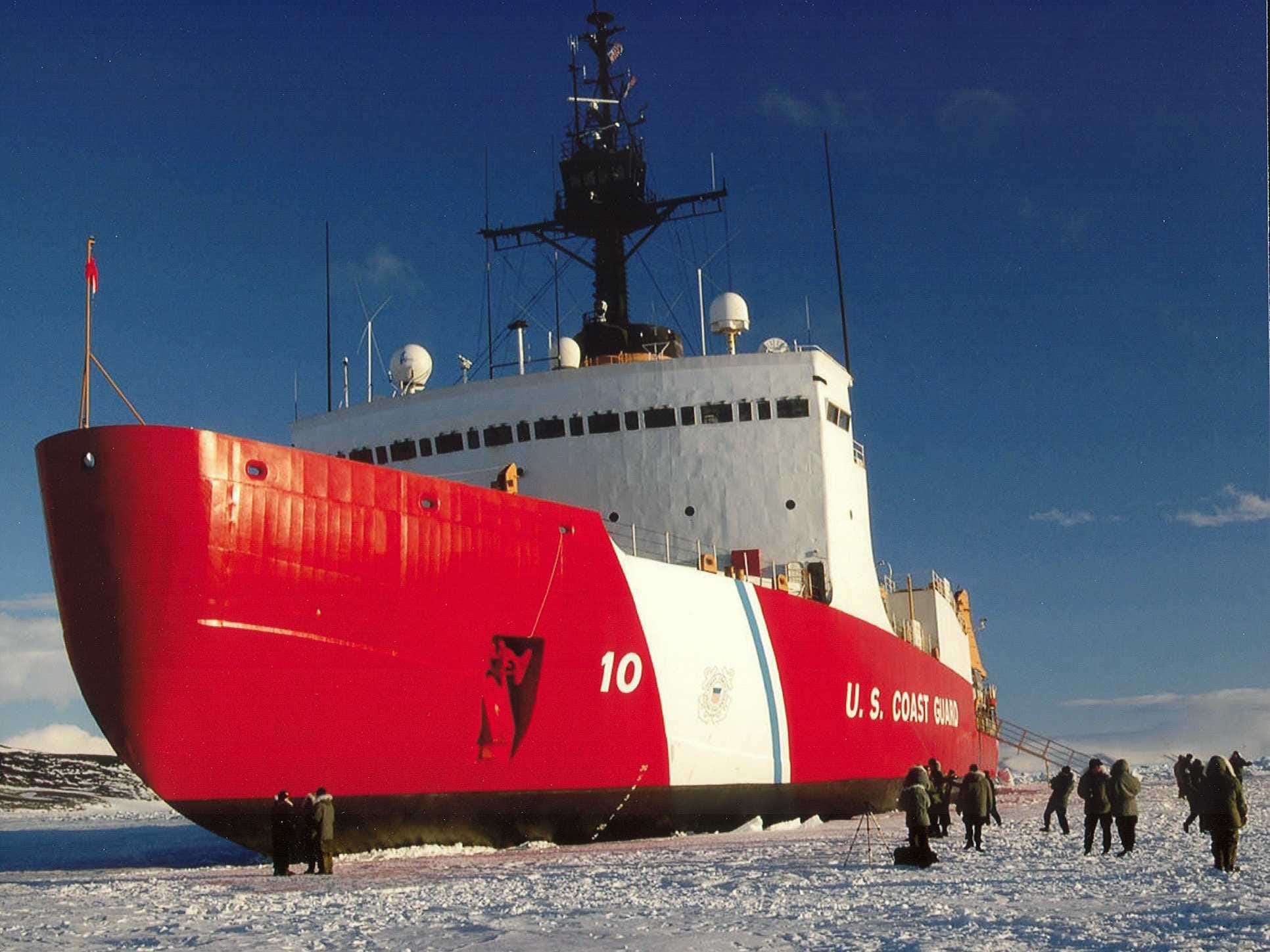 Three Motherships Under Antarctic Ice Now Being Excavated, Says Visionary David Wilcox... US Ice-Breaker On It's Way Now!