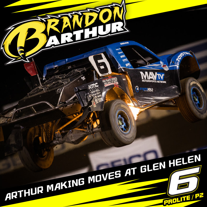 Brandon Arthur Making Moves Towards The Front In Pro 2 and Pro Lite