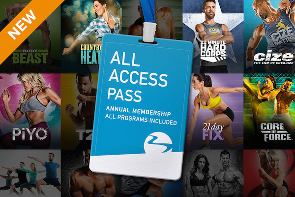 Get ALL Beachbody Programs for...