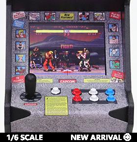 Street Fighter II: Champion Edition RepliCade Amusements 1/6 Scale Limited Edition Arcade Cabinet
