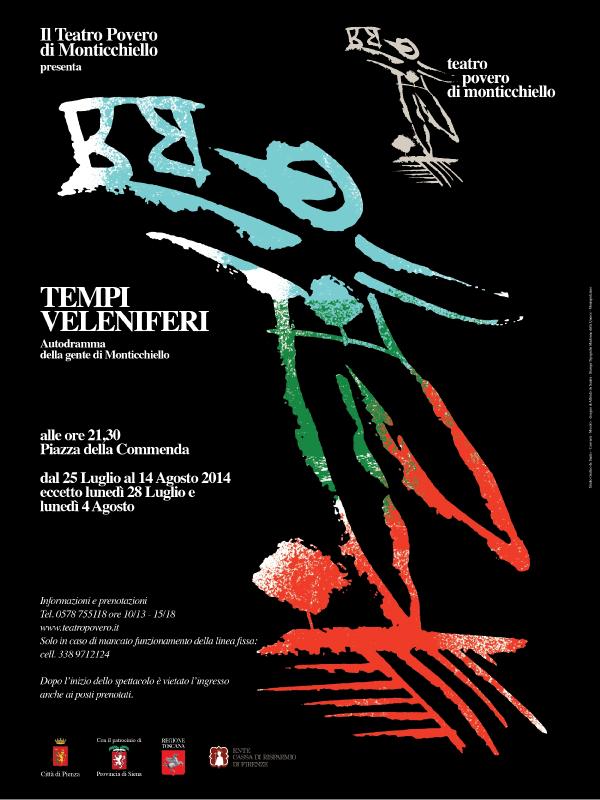 Locandina spettacolo 2014