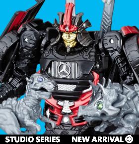 Transformers Studio Series 36 Deluxe Drift with Mini Dinobots