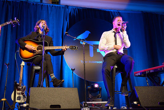 Imagine Dragons perform at third annual gala benefiting the Tyler Robinson Foundation