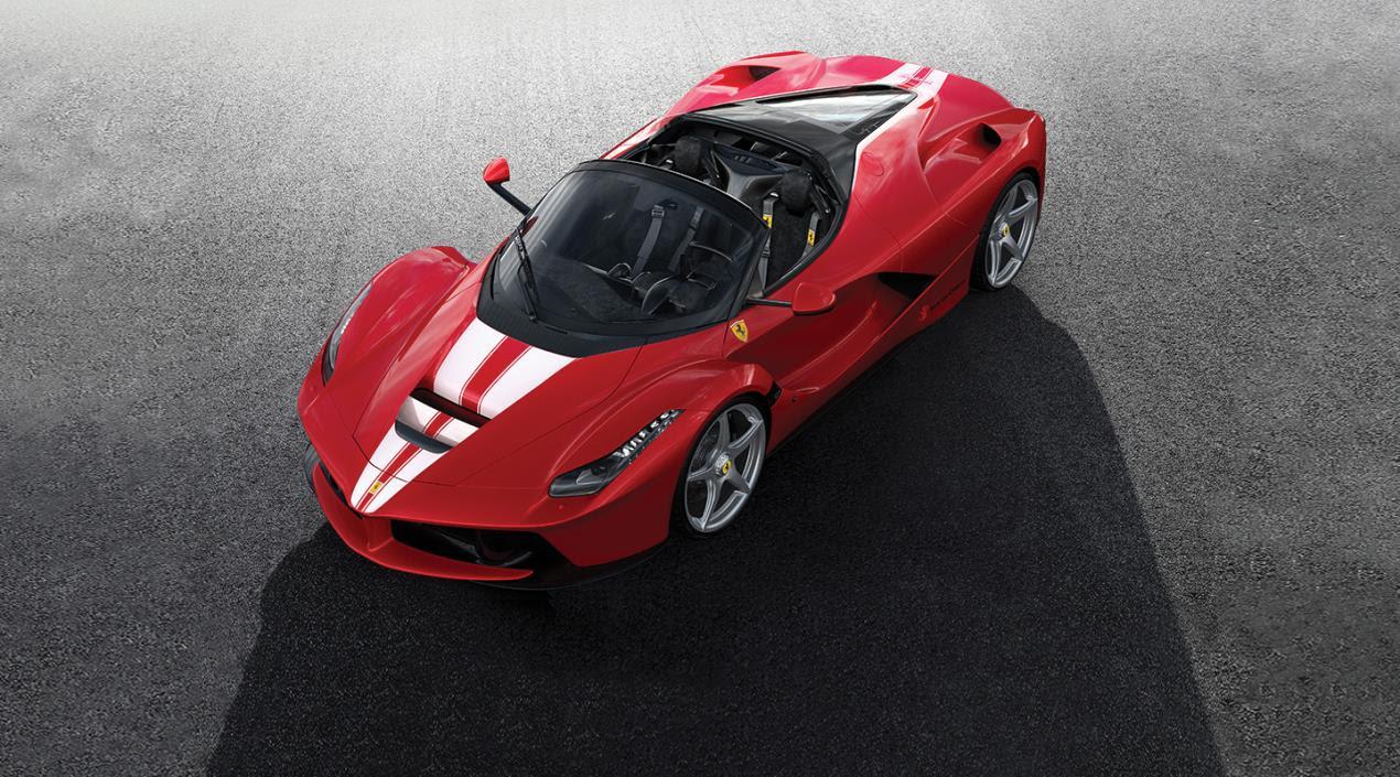 2. 2017 Ferrari LaFerrari Aperta_Courtesy of Ferrari