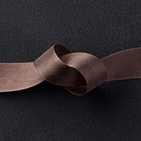 "Early Espresso 1/2"" Seam Binding Ribbon"