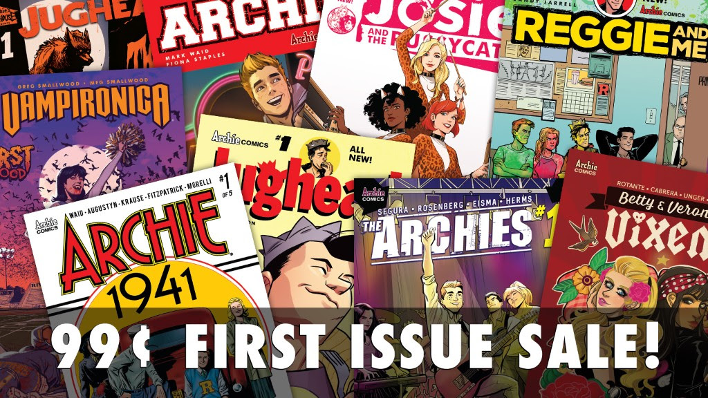 99 Cent First Issue Sale