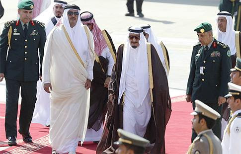 Le Qatar sous haute pression