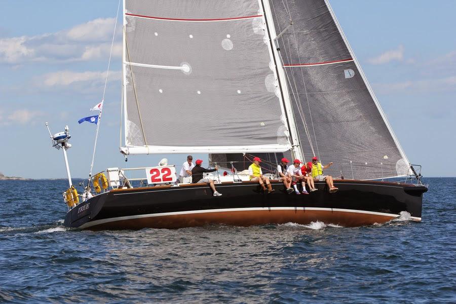 J/160 True sailing Bermuda Race