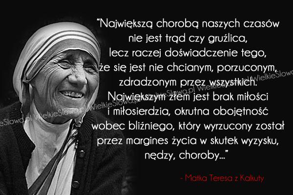 Największą chorobą naszych czasów nie jest... - WielkieSłowa.pl - Najlepsze  cytaty w Internecie