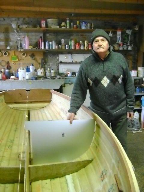 Danilo Bonaldo il pioniere del Dinghy 12' in vetroresina da regata.