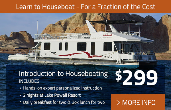 Introduction to Houseboating frm $299 - More Info