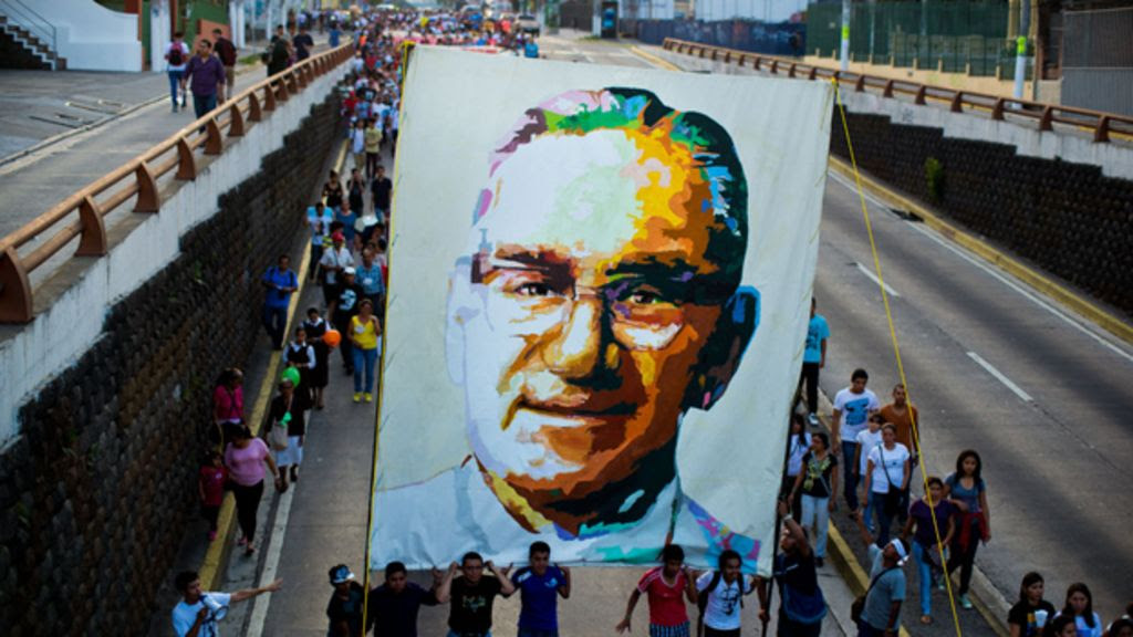 Image result for monsenor oscar romero street
