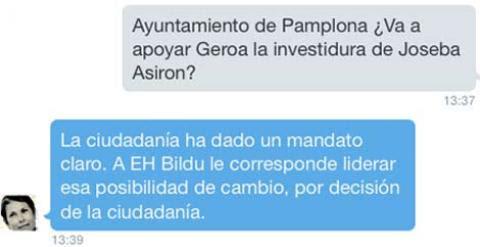 Pantallazo Uxue Barkos