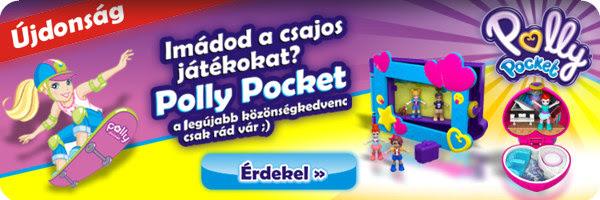 Imádod a csajos játékokat? Polly Pocket a legújabb közönségkedvenc, csak rád vár ;)