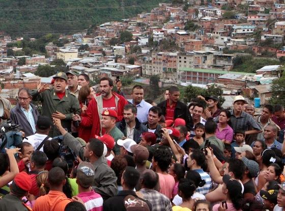 Foto CHAVEZ Y LA CIUDAD
