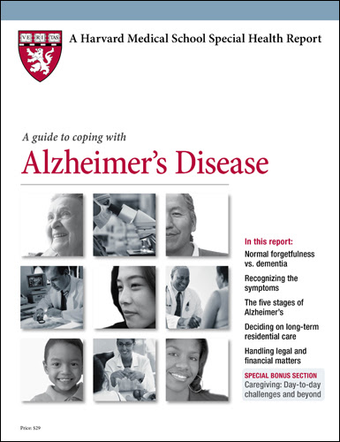 Product Page - A Guide to Coping with Alzheimer's Disease