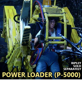 Aliens Power Loader (P-5000) Deluxe Vehicle