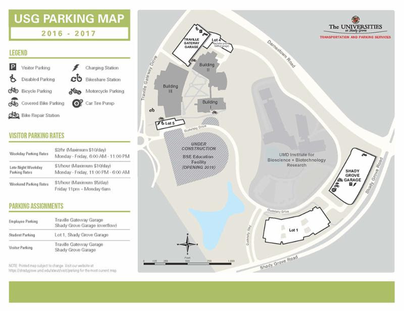 USG Parking Map