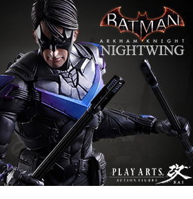 BATMAN ARKHAM KNIGHT PLAY ARTS KAI NIGHTWING
