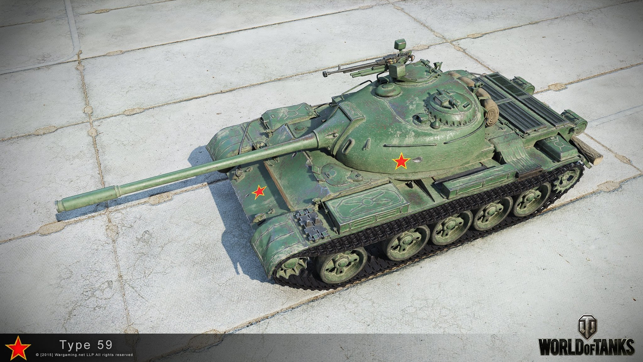 Type 59 w HD - World of Tanks - Dogry - Gry MMO, Sklep