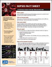 Sepsis Fact Sheet