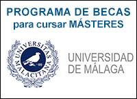 Becas para Másteres Universidad de Málaga