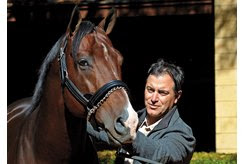 Maclean's Music and bloodstock agent Donato Lanni at Hill 'n' Dale Farms