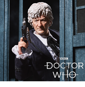 DOCTOR WHO THIRD DOCTOR 1/6 SCALE FIGURE