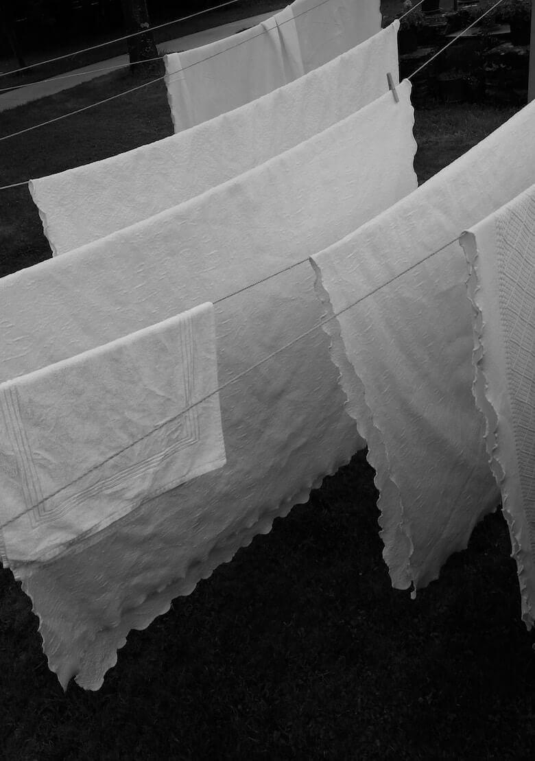 comment laver les draps vintage